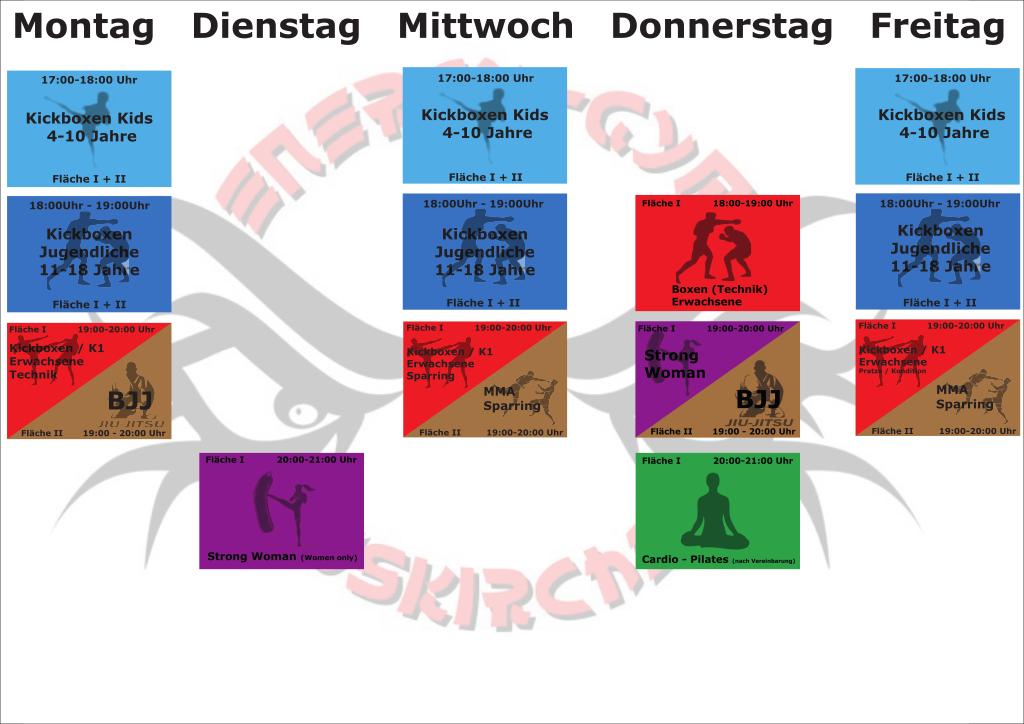 Energy Gym Euskirchen Kursplan 2019